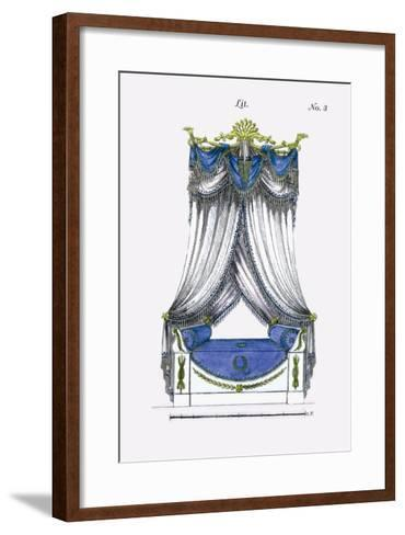 French Empire Bed No. 3--Framed Art Print