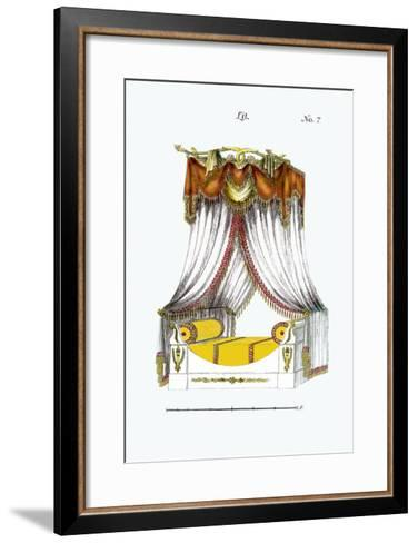 French Empire Bed No. 7--Framed Art Print