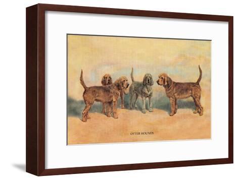 Otter Hounds-Thomas Ivester Llyod-Framed Art Print