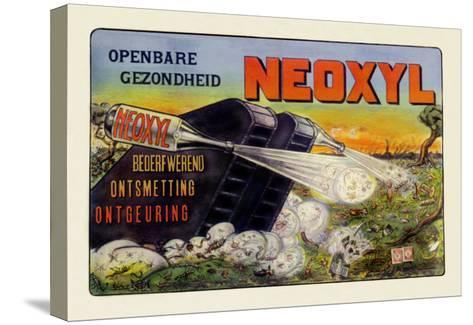 Neoxyl Tank--Stretched Canvas Print