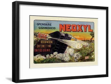Neoxyl Tank--Framed Art Print