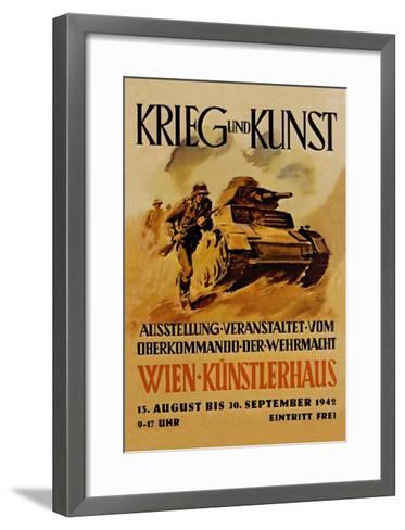 Krieg und Kunst--Framed Art Print