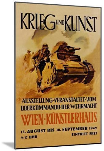 Krieg und Kunst--Mounted Art Print