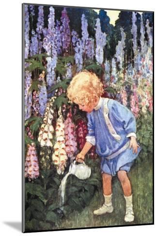 Fairy Gardens-Jessie Willcox-Smith-Mounted Art Print