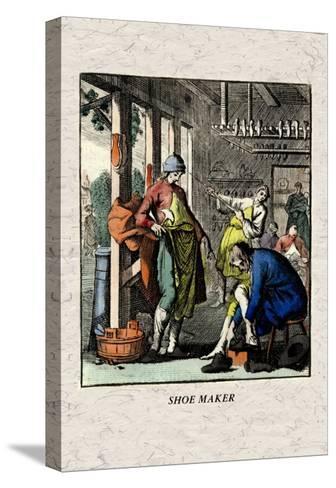 Shoe Maker--Stretched Canvas Print