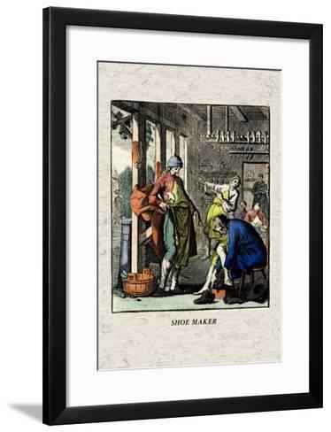 Shoe Maker--Framed Art Print
