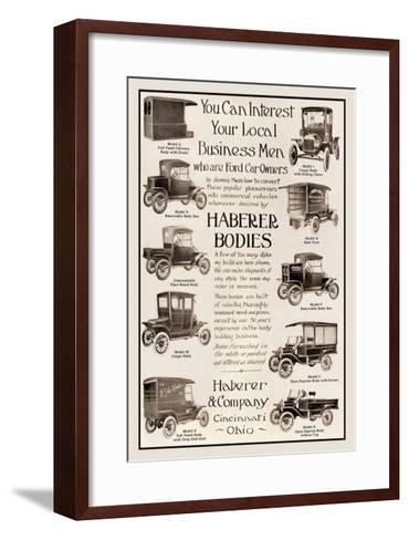 Haberer Bodies--Framed Art Print