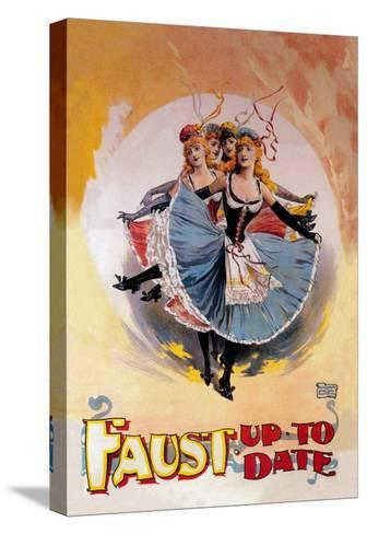 Faust Up to Date-John Stewart Browne-Stretched Canvas Print