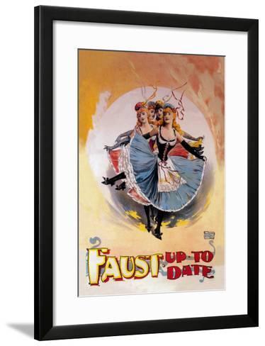 Faust Up to Date-John Stewart Browne-Framed Art Print