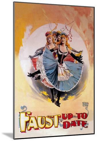 Faust Up to Date-John Stewart Browne-Mounted Art Print