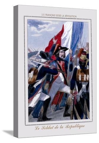 Le Soldat de la Republique--Stretched Canvas Print