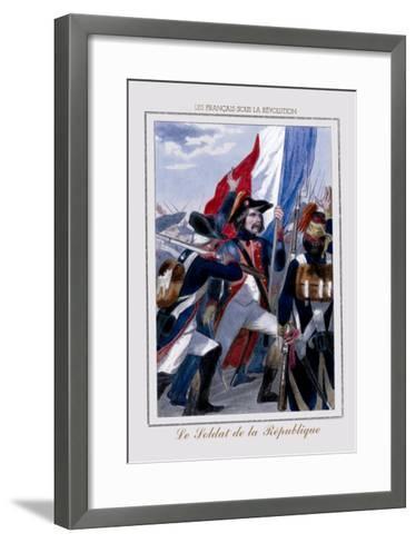 Le Soldat de la Republique--Framed Art Print