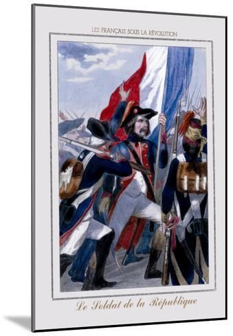 Le Soldat de la Republique--Mounted Art Print