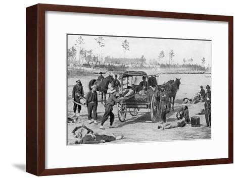 Ambulance Corps--Framed Art Print