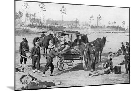 Ambulance Corps--Mounted Art Print