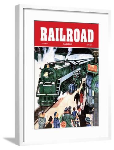 Railroad Magazine: The Limited, 1952--Framed Art Print