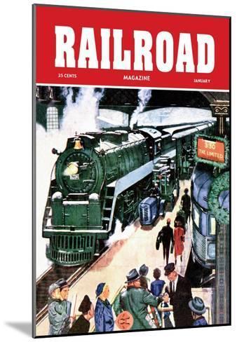 Railroad Magazine: The Limited, 1952--Mounted Art Print