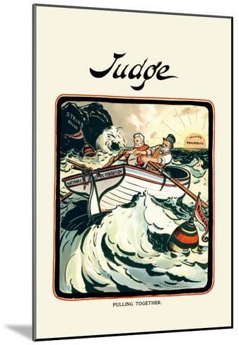 Judge: Pulling Together-Grant Hamilton-Mounted Art Print