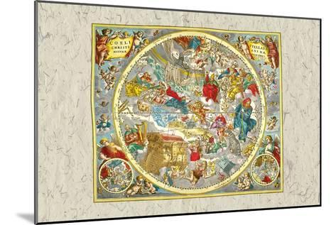 Sky Chart-Andreas Cellarius-Mounted Art Print