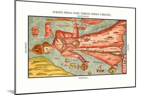 Europa Prima Pars-Heinrich Bunting-Mounted Art Print