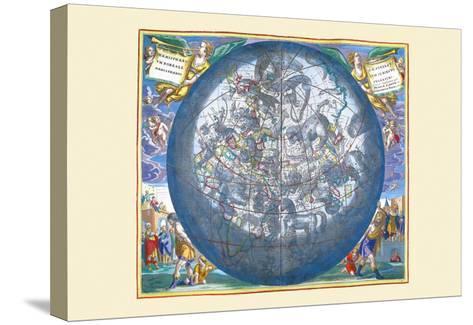 Hemisphaerii Borealis Coeli-Andreas Cellarius-Stretched Canvas Print
