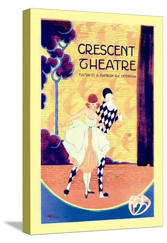 Crescent Theatre--Stretched Canvas Print