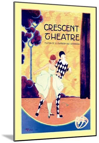 Crescent Theatre--Mounted Art Print