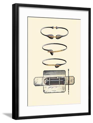 Bandages and Trusses-Jules Porges-Framed Art Print