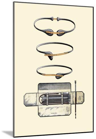 Bandages and Trusses-Jules Porges-Mounted Art Print