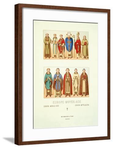 Europe-Moyen-Age--Framed Art Print
