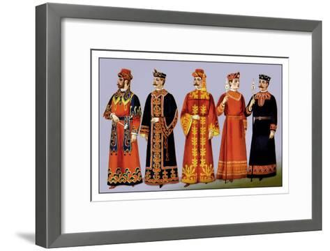 Odd Fellows: Our Prize Costumes--Framed Art Print