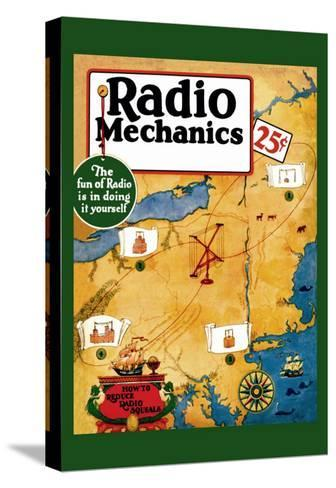 Radio Mechanics: How to Reduce Radio Squeals--Stretched Canvas Print