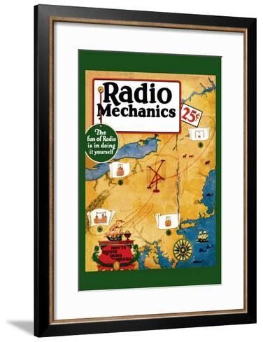 Radio Mechanics: How to Reduce Radio Squeals--Framed Art Print