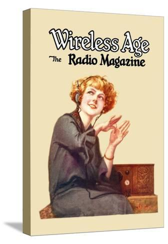 Wireless Age: The Radio Magazine-D^ Gross-Stretched Canvas Print