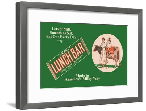 Lunch Bar--Framed Art Print