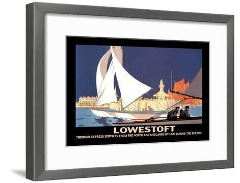 Lowestoft: Through Express Services from the North and Midlands by LMS-Hap Hadley-Framed Art Print