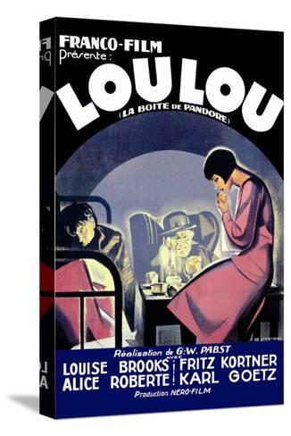 Lou Lou--Stretched Canvas Print
