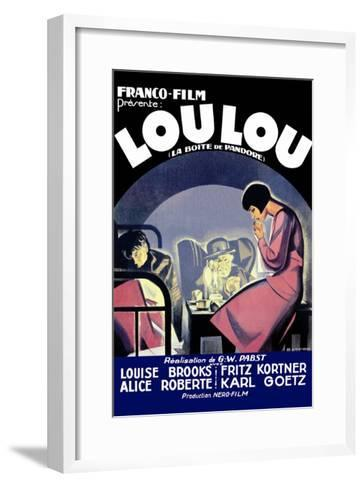 Lou Lou--Framed Art Print