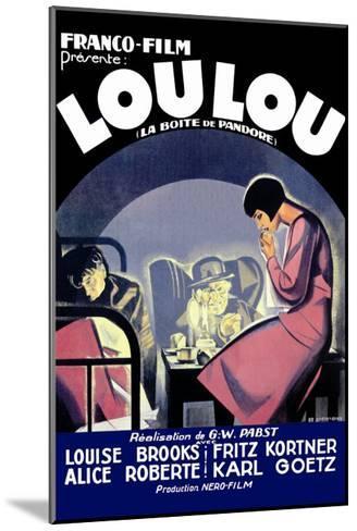 Lou Lou--Mounted Art Print
