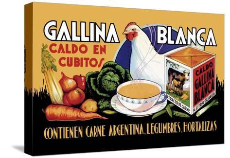 Gallina Blanca--Stretched Canvas Print