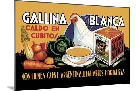 Gallina Blanca--Mounted Art Print
