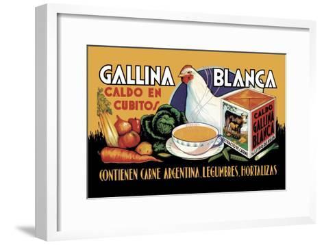 Gallina Blanca--Framed Art Print