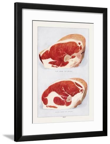 Beef: Bone Top Sirloin--Framed Art Print