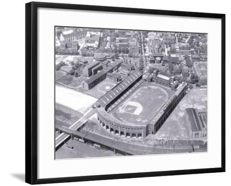 Franklin Field in Philadelphia--Framed Art Print