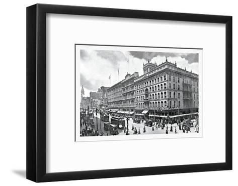 Philadelphia Sky--Framed Art Print