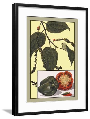 Peppers--Framed Art Print