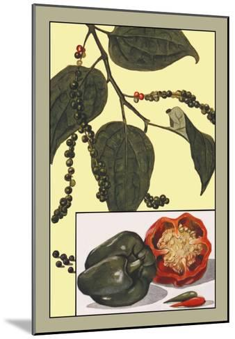 Peppers--Mounted Art Print