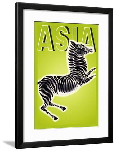 Zebra-Frank Mcintosh-Framed Art Print