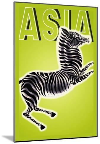 Zebra-Frank Mcintosh-Mounted Art Print