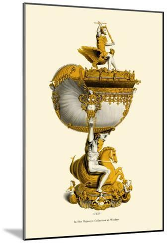 Cup in Her Majesty's Collection at Windsor-H. Shaw-Mounted Art Print
